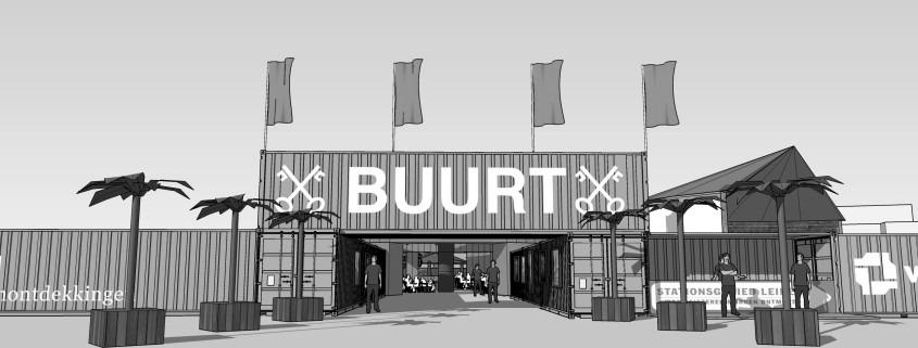 De Buurt Leiden Stationsgebied